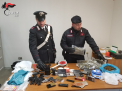 Bitonto: droga e armi in casa, arrestato incensurato